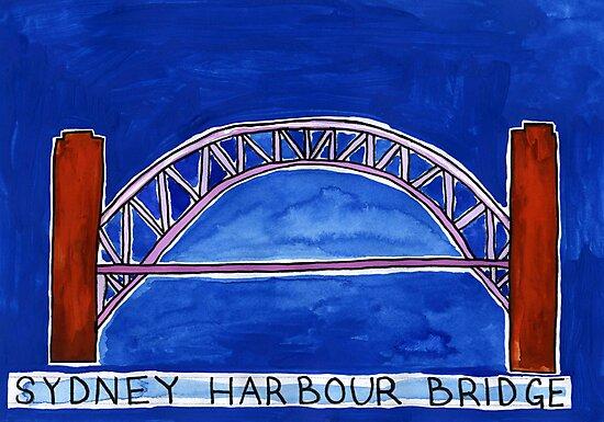 Sydney Harbour Bridge by John Douglas