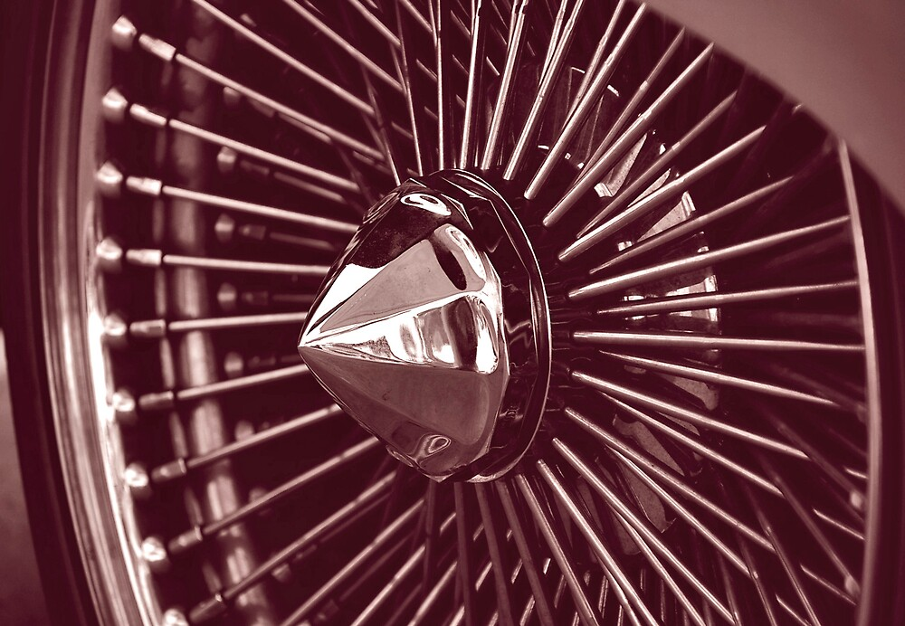 hubcap by Leigh  Parkin