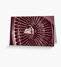 hubcap Greeting Card