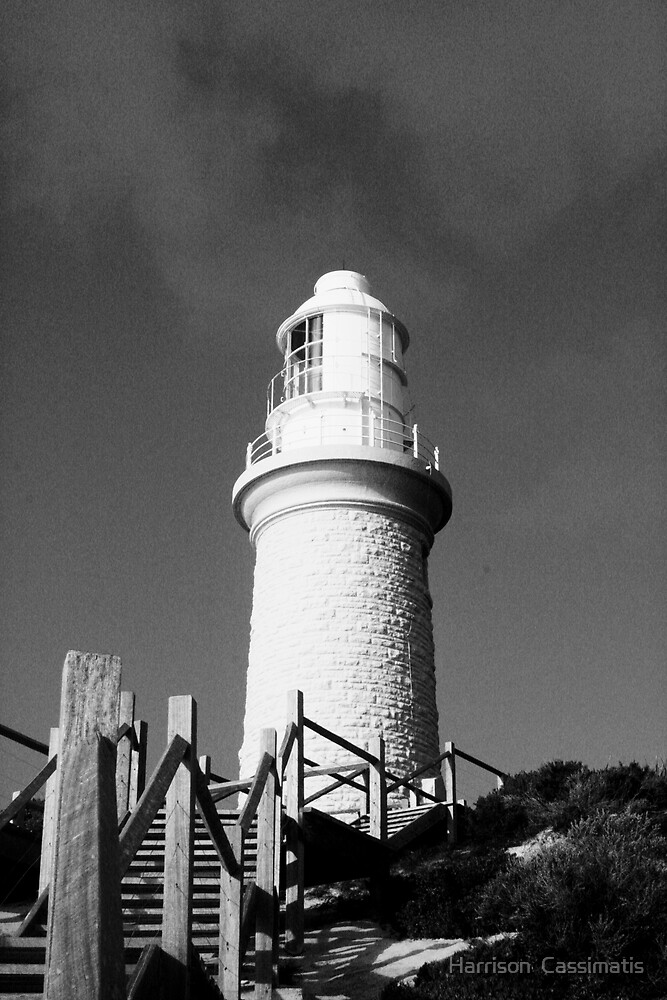 Rottnest Island light house by Harrison  Cassimatis