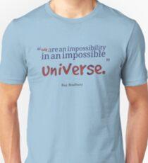 Ray Bradbury Quote #1 Unisex T-Shirt