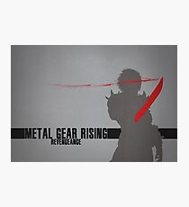 Metal Gear Rising - Revengeance - Raiden Photographic Print