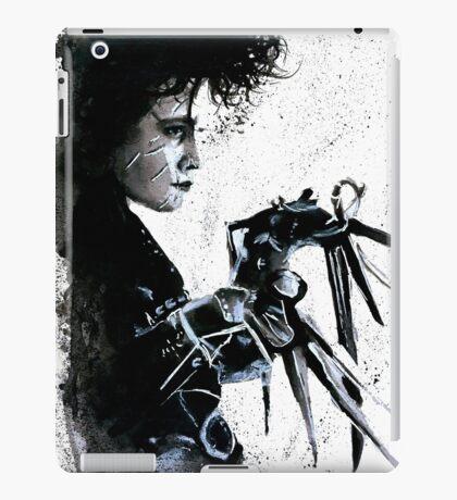 Scissorhands Splatter iPad Case/Skin