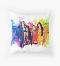 Fifth Harmony Multi Color Throw Pillow