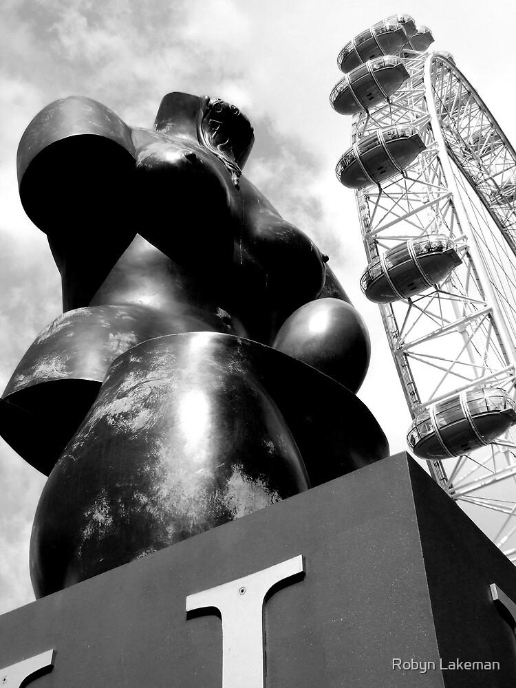 Dali and the London Eye by Robyn Lakeman