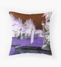 Stratton Grave Yard Throw Pillow