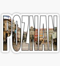 Poznan Sticker