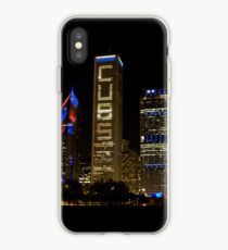 Cubs Symmetrical Skyline Chicago iPhone Case