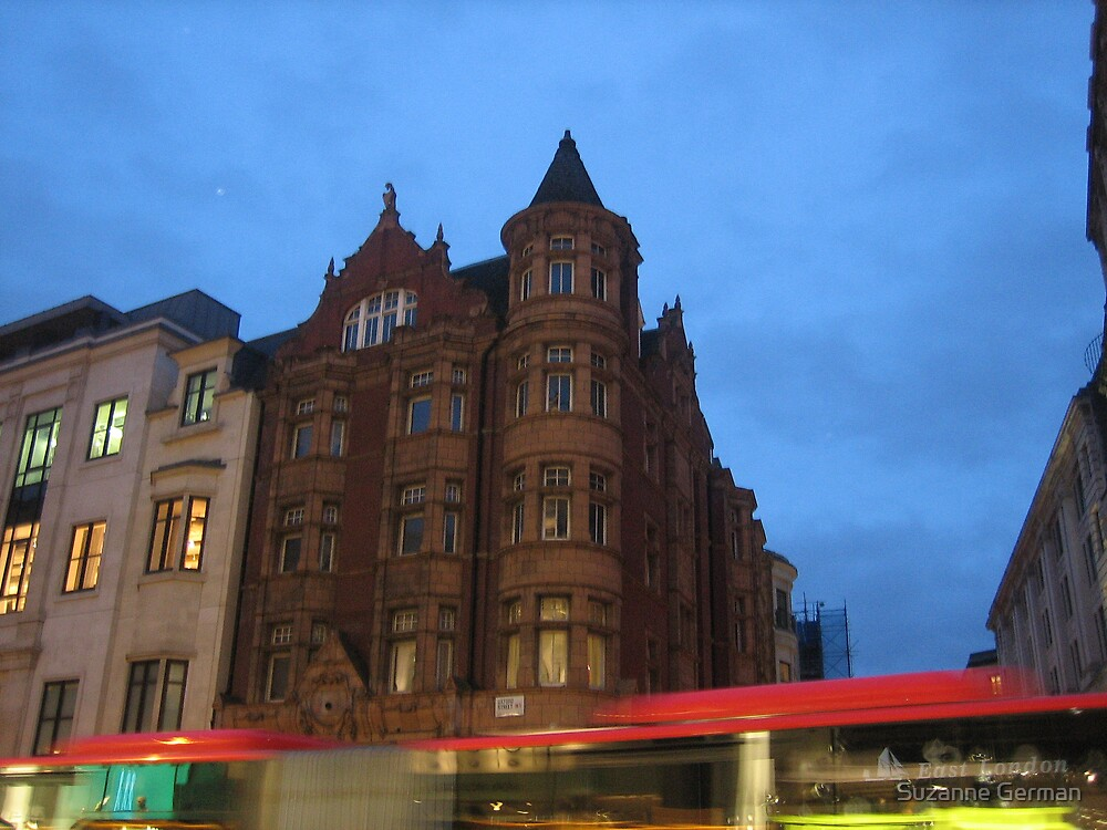 oxford street - london by Suzanne German