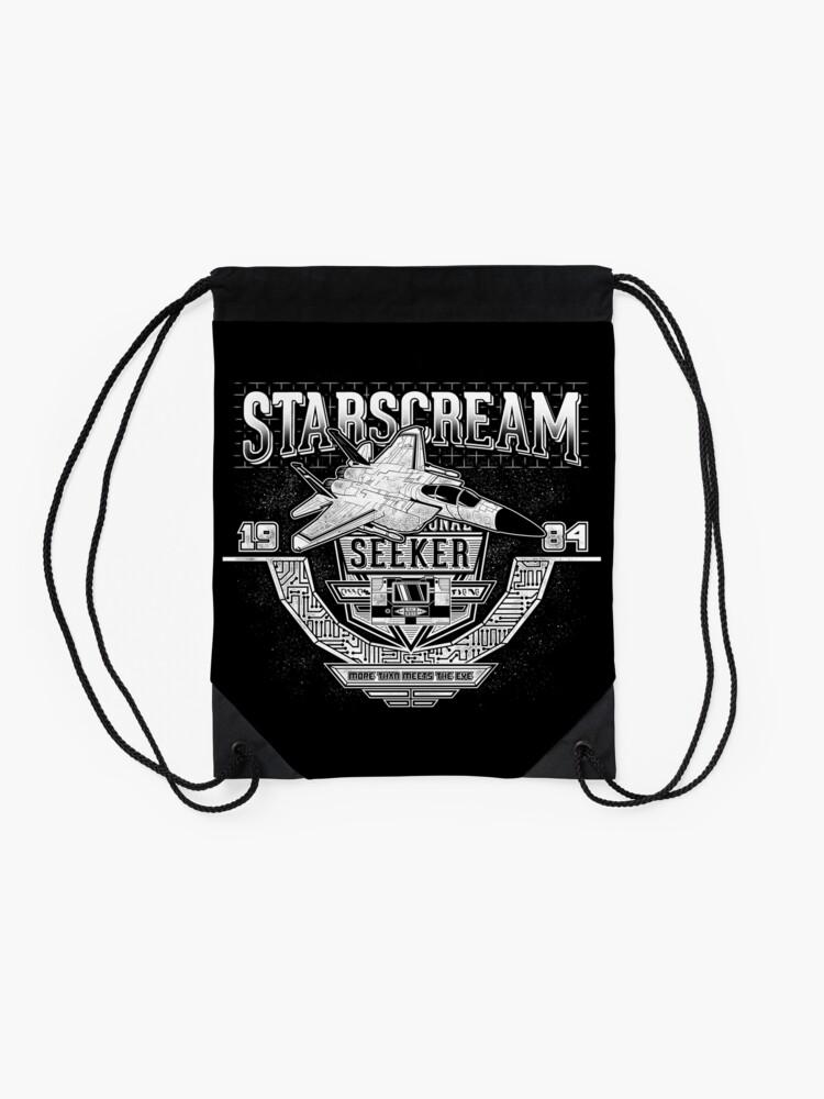 Alternate view of Starscream Drawstring Bag