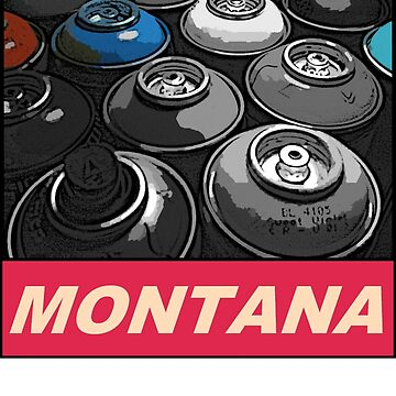 Montana Spray T-shirt by Jonilargo