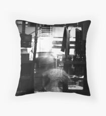 Ghost in the Machine #1 Throw Pillow