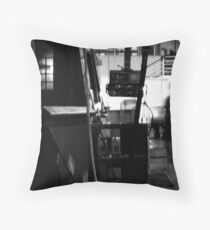 Ghost in the Machine #3 Throw Pillow