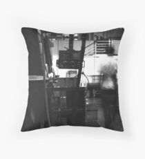 Ghost in the Machine #2 Throw Pillow