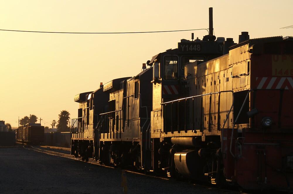 Anaheim Depot Sunset by Morven