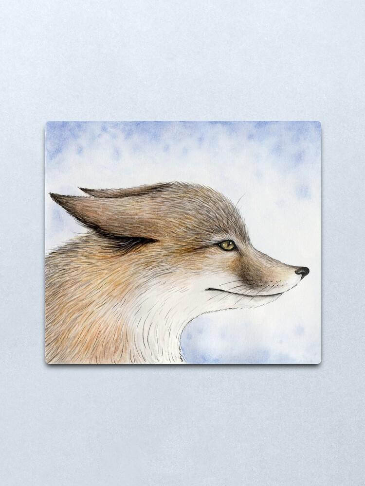 Alternate view of Swift Fox Metal Print