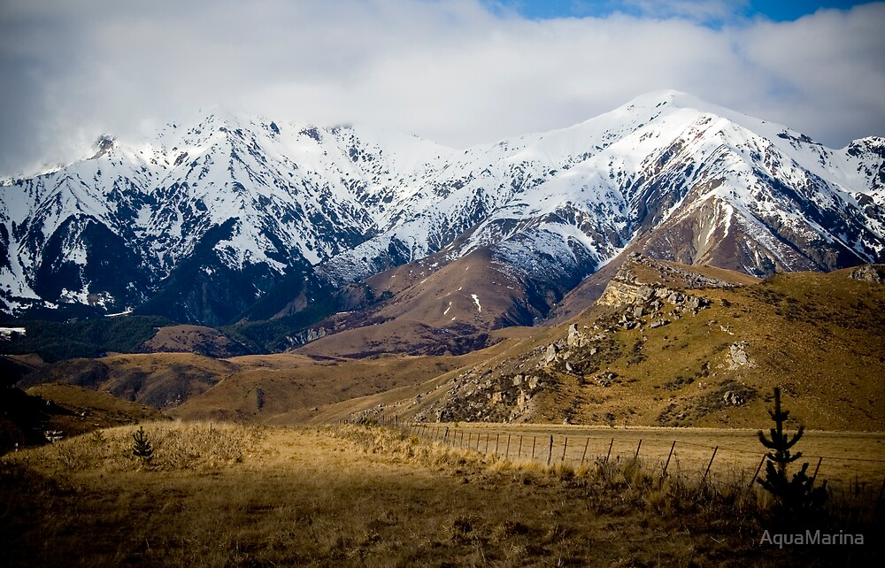 Arthur's Pass by AquaMarina