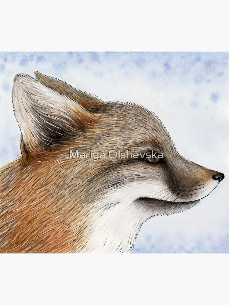 Grey Fox by OzureFlame