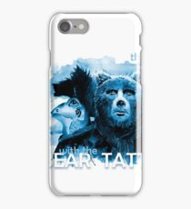The Girl with the Bear tattoo iPhone Case/Skin