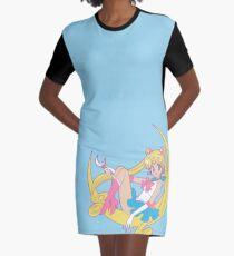 Sailor Moon Graphic T-Shirt Dress