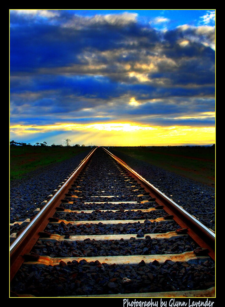 Tracks to the Sun by Wulff
