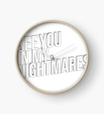 Nightmares Clock