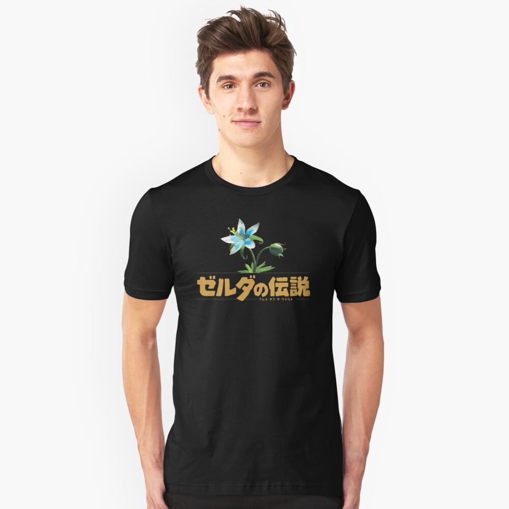 Zelda Atem der wilden Blume Slim Fit T-Shirt