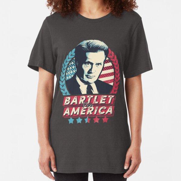 Bartlet For America Slim Fit T-Shirt