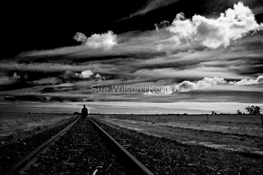 Walk the line by Sue Wilson (Kane)