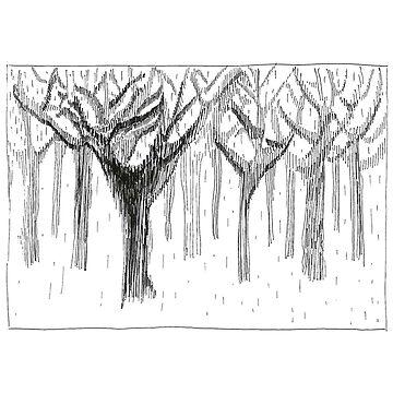 Winter in the Forest by ofmooseandmen