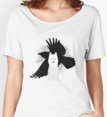 Ghost the Crow Women's Relaxed Fit T-Shirt