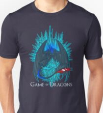 Game of Dragons - HTTYD2/GoT (With Text) Unisex T-Shirt