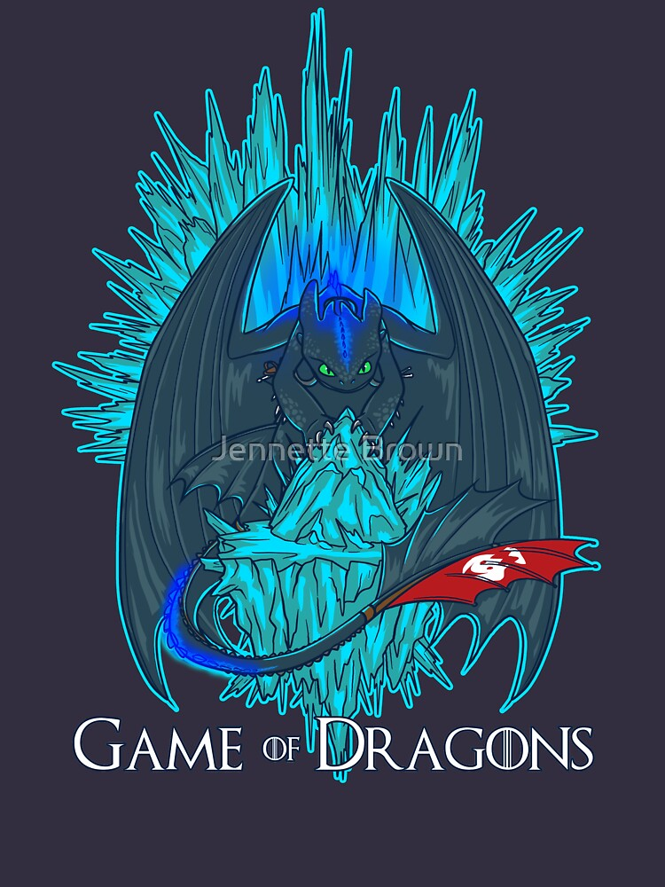 Game of Dragons - HTTYD2/GoT (With Text) | Unisex T-Shirt