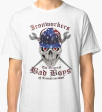Ironworkers - The Original Bad Boys of Construction Classic T-Shirt