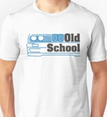E30 Old School - Blue T-Shirt