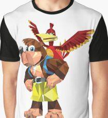 Banjo-Kazooie Minimalist Design Graphic T-Shirt