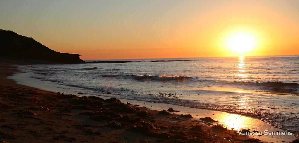 Bells Beach Sunrise by Vanessa Semmens