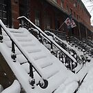 Snow View, Jersey City, New Jersey  by lenspiro