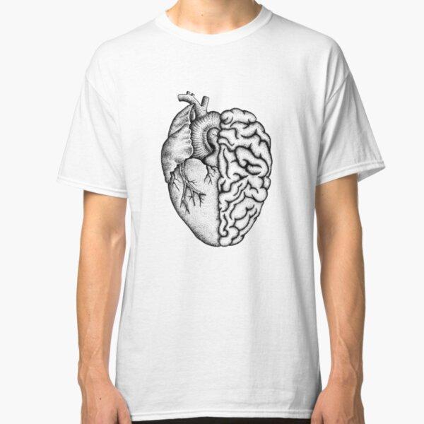 Heart and Brain Classic T-Shirt