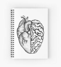 Herz und Gehirn Spiralblock
