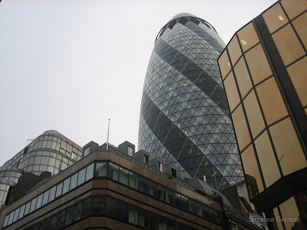 The Gherkin  by Suzanne German