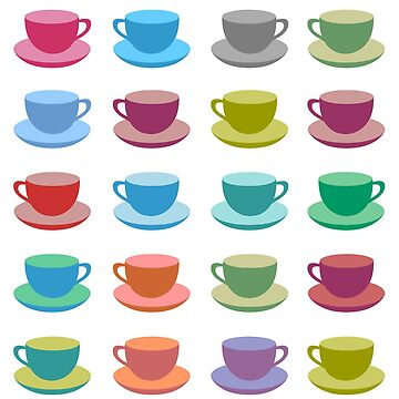 Coffee Cups by iconymous