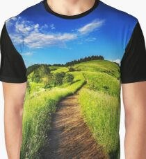 Countryside Road Graphic T-Shirt