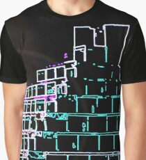 Glowing Ziggurats Graphic T-Shirt