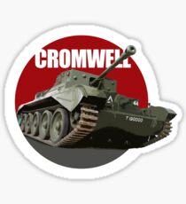 Cromwell Cruiser Tank Sticker