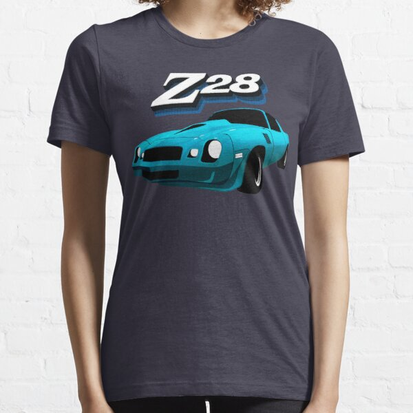 79 Camaro Z28 illustration - light blue Essential T-Shirt