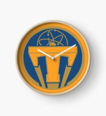 Tomorrowland Logo 2 - 'Tomorrowland' Clock