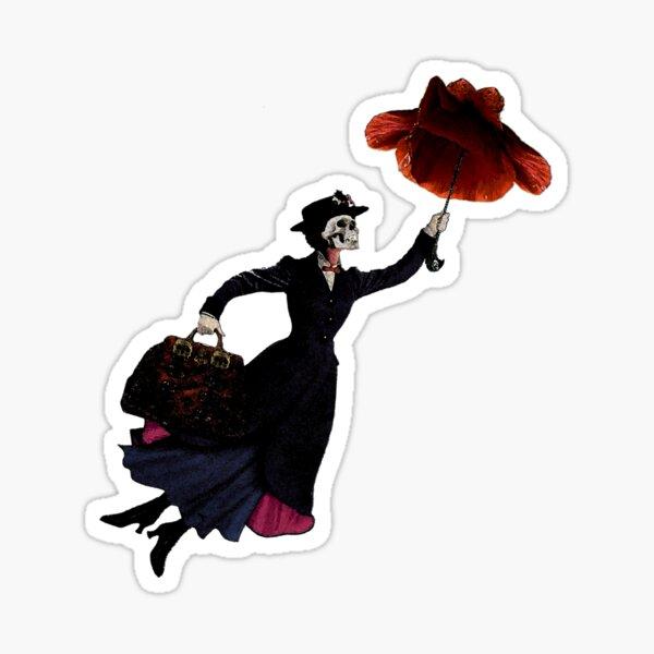 Brolly Poppy Sticker
