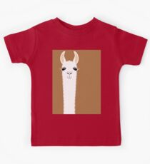 LLAMA PORTRAIT #9 Kids Clothes
