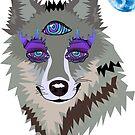 3rd Eye Wolf by Adamhass